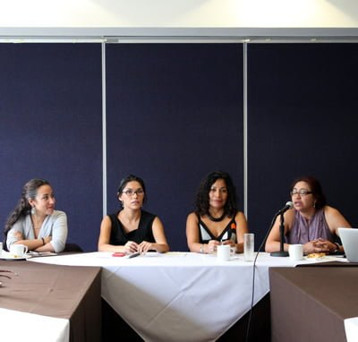 Conferencia de prensa de activistas previa a la sesión de la SCJN | CIMACFoto: César Martínez López