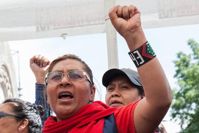 Insisten madres de Ayotzinapa en permanencia del GIEI