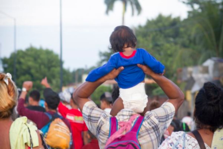 migrantesCaravanaHonduras_javierGarcia