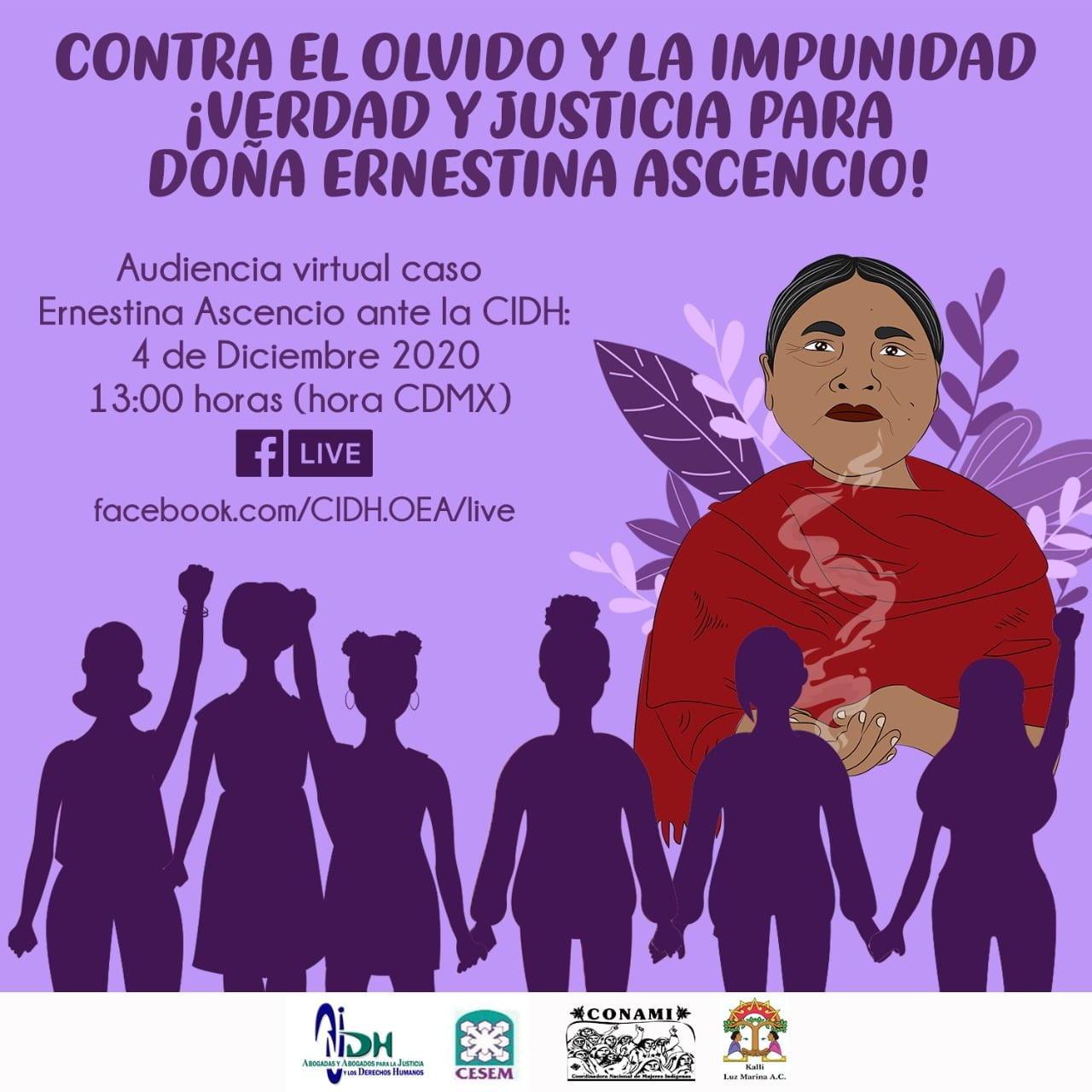 Exhorta CNDH a Fiscalía de Veracruz a reabrir expediente de Ernestina Rosario