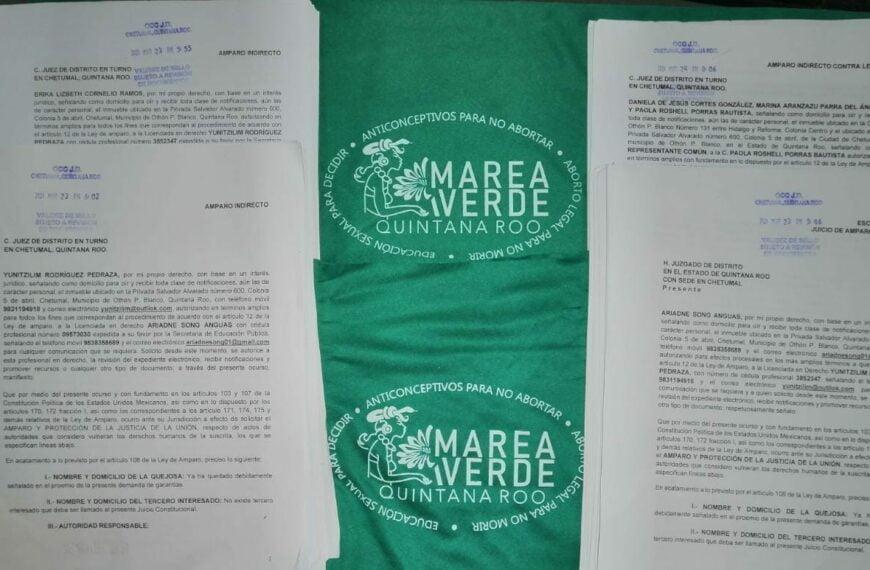 Feministas de Quintana Roo emprenden acciones legales contra Congreso local por no respetar DH de las mujeres