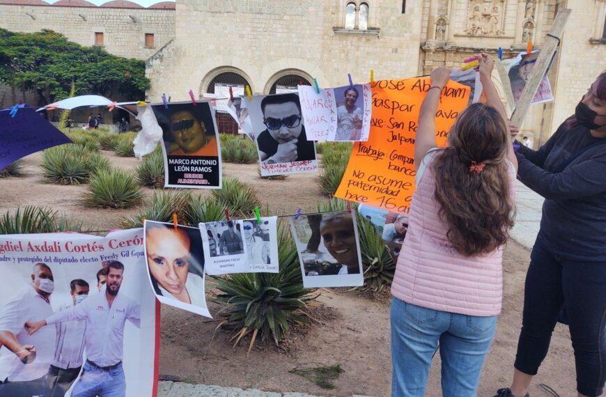 Cuelgan en tendedero caso del excandidato del PUP Israel Gallegos Soto, quien por 6 años ha burlado la ley