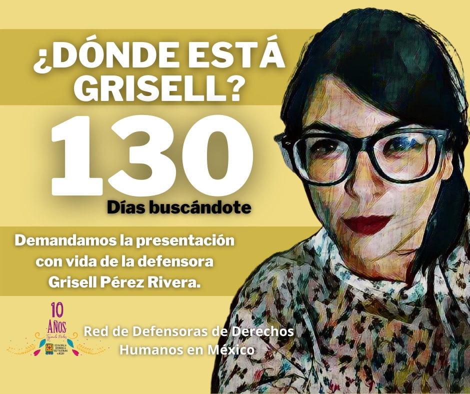 130 días en búsqueda de la defensora Grisell Pérez Rivera