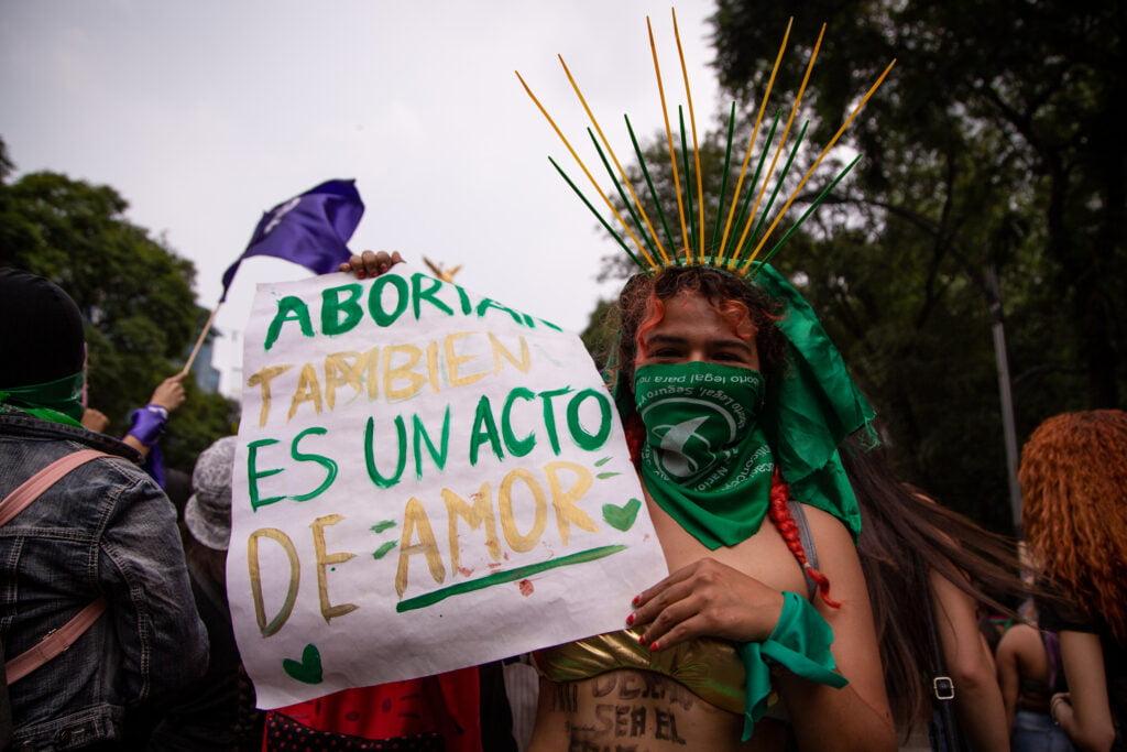 """""""Marías aborteras"""", marchan por la despenalización del aborto"""